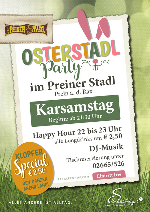 Osterstadlparty